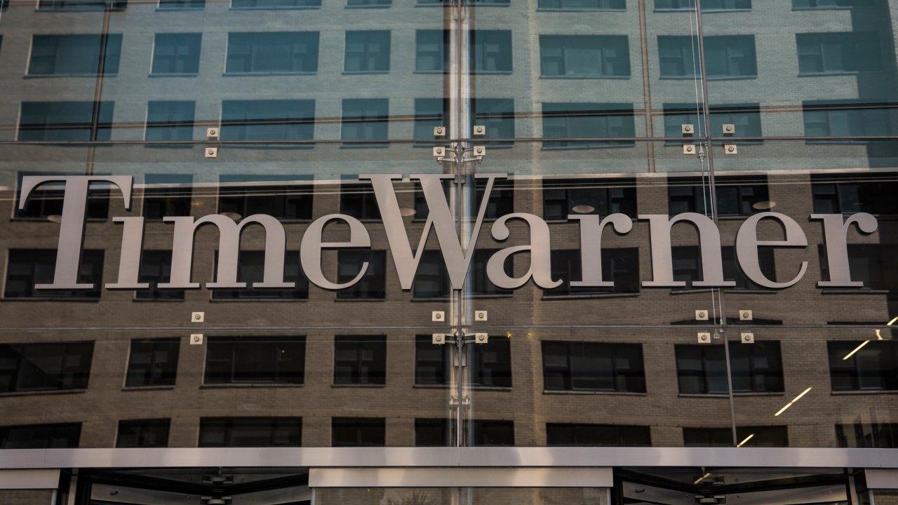 Time Warner sign