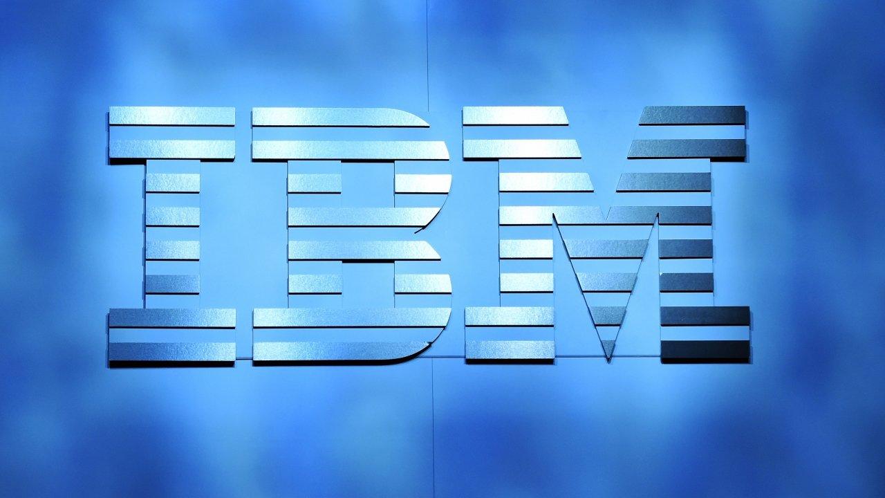 IBM logo at CES in 2016