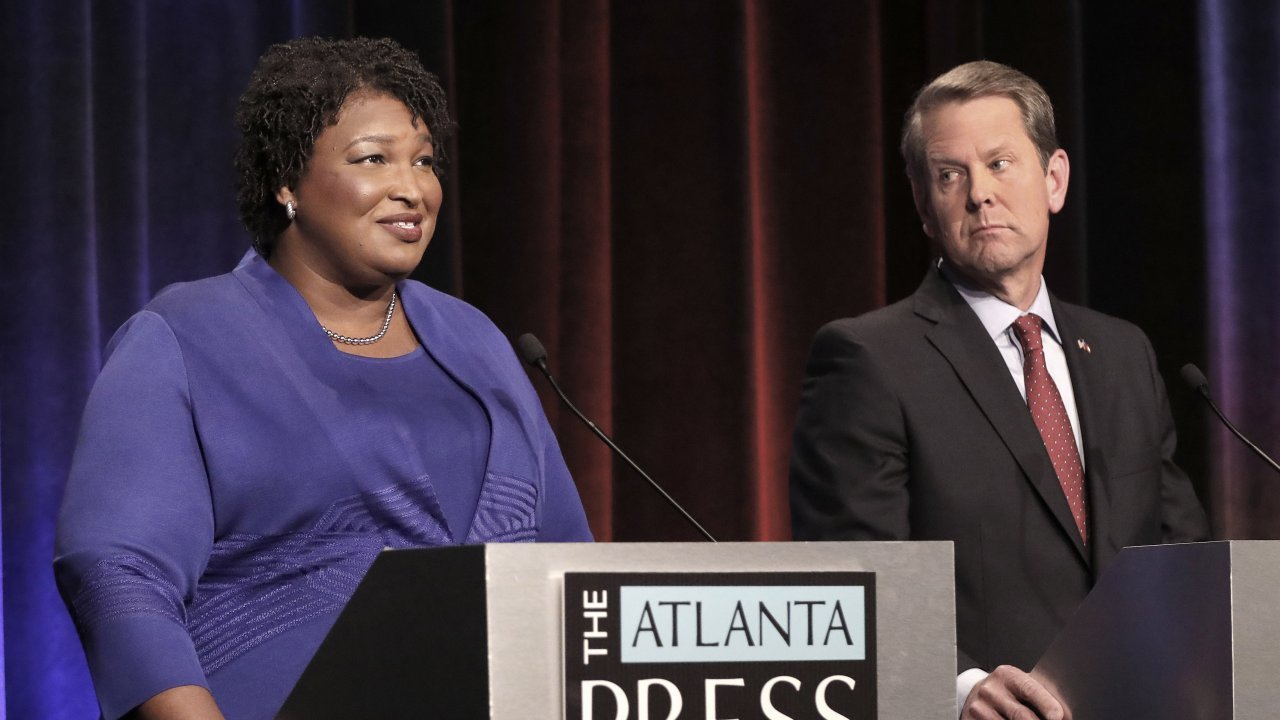 Abrams Won't Accept Kemp's Victory Claim In Georgia Governor Race