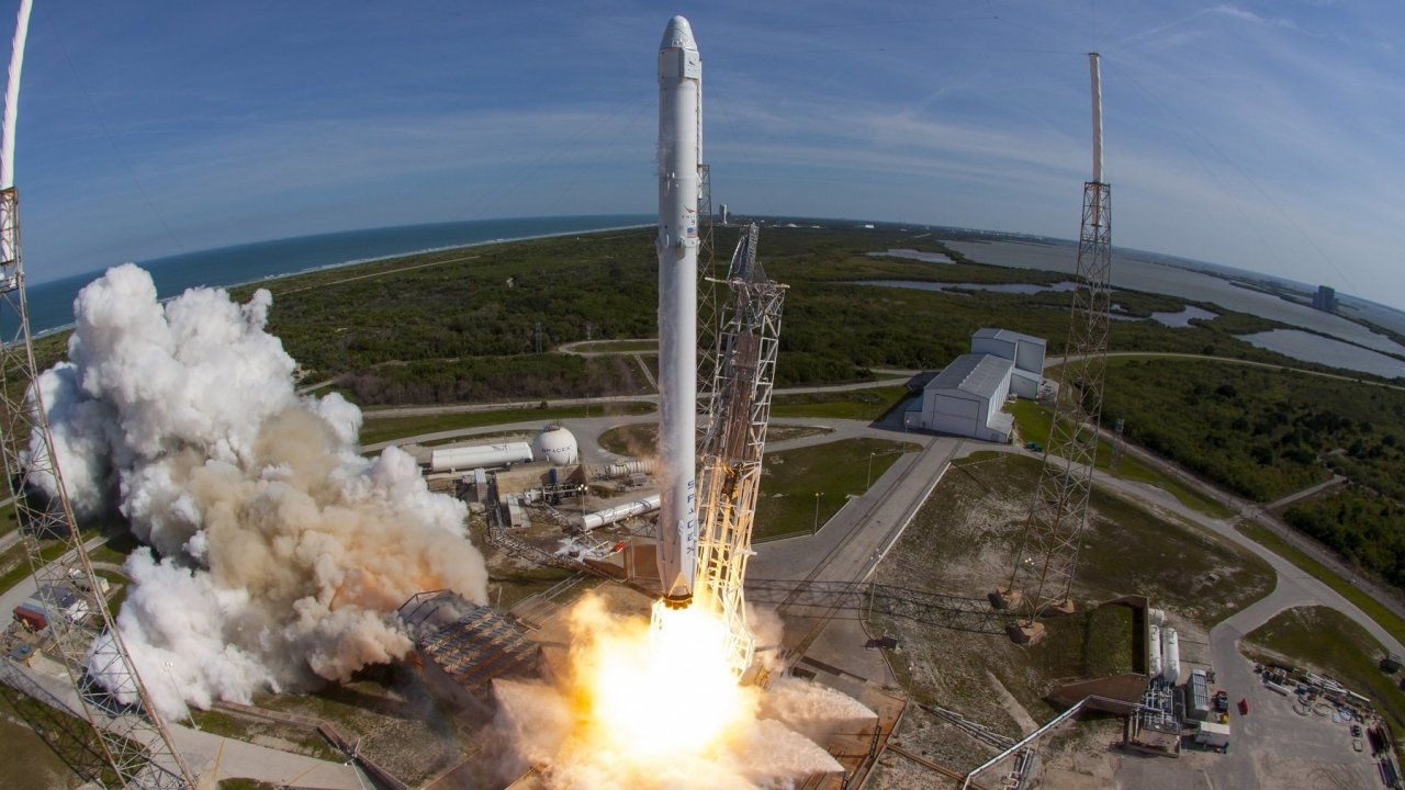 SpaceX's Falcon 9 rocket and Dragon spacecraft