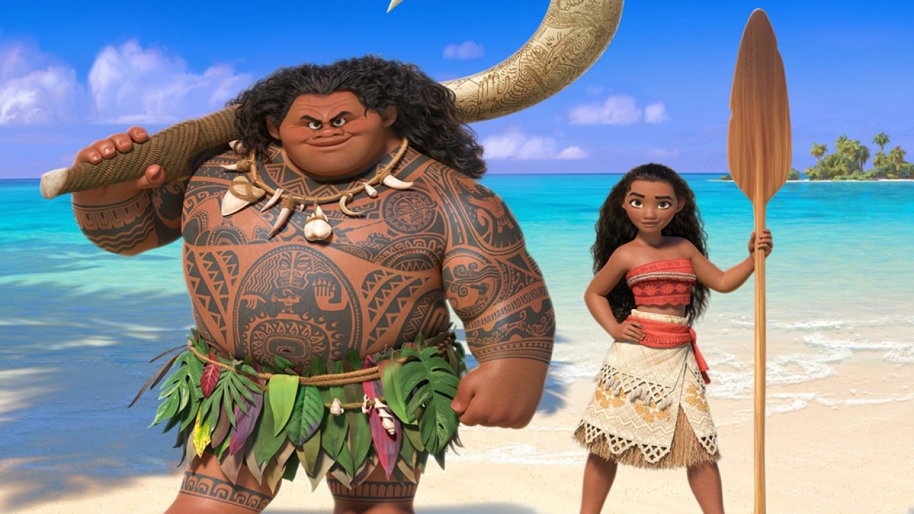 """A promotional image for Disney's """"Moana"""""""