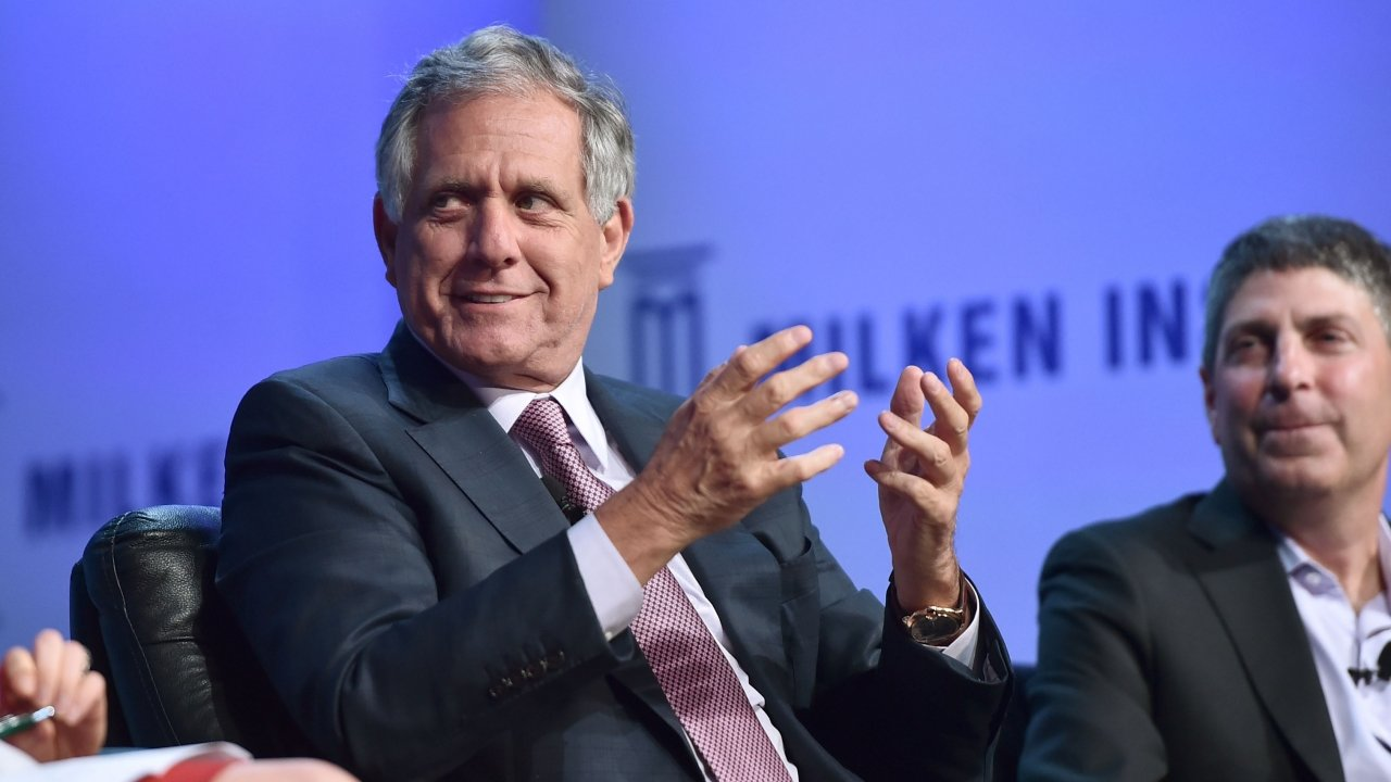Former CBS CEO Les Moonves