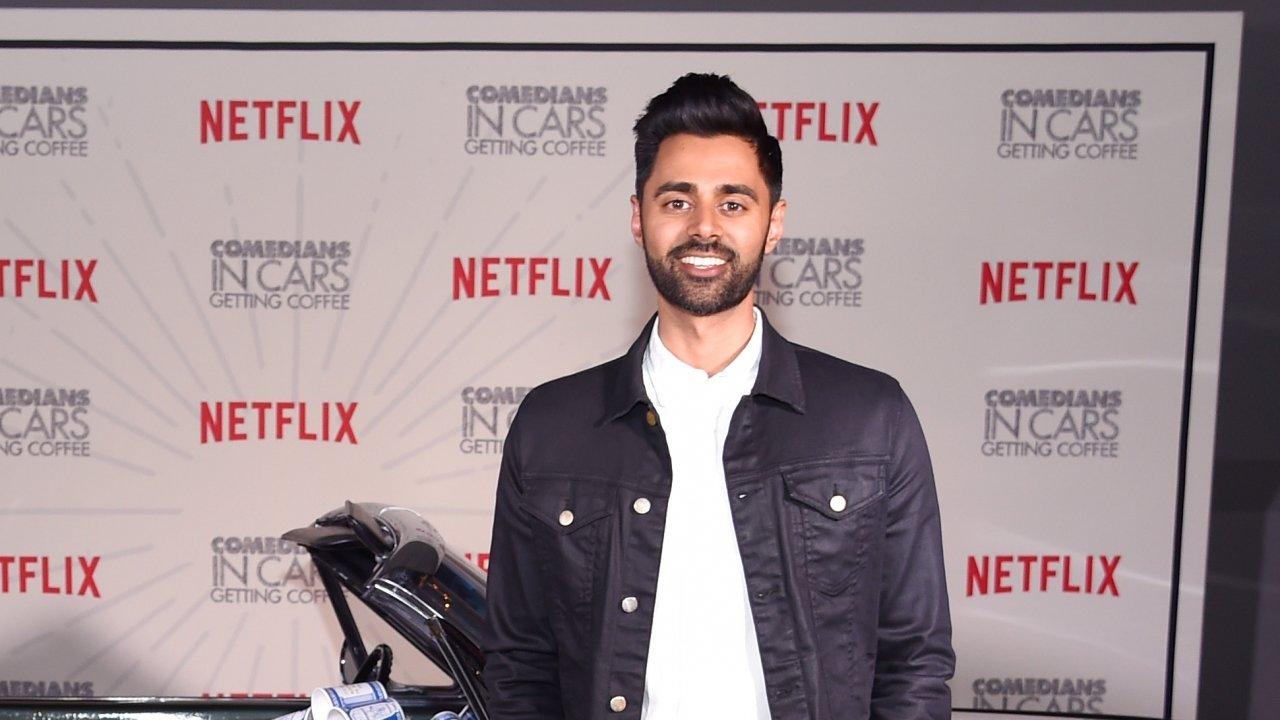 Comedian Hasan Minhaj