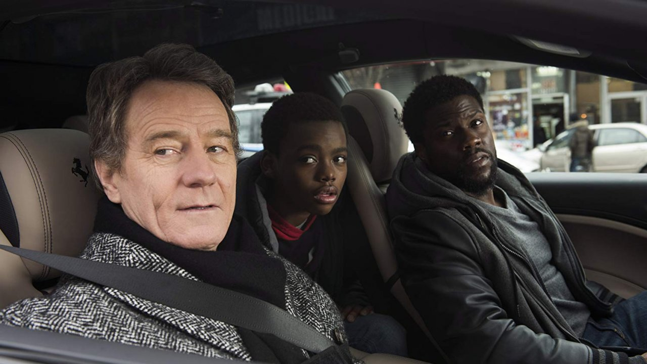 "Bryan Cranston and Kevin Hart in ""The Upside"""