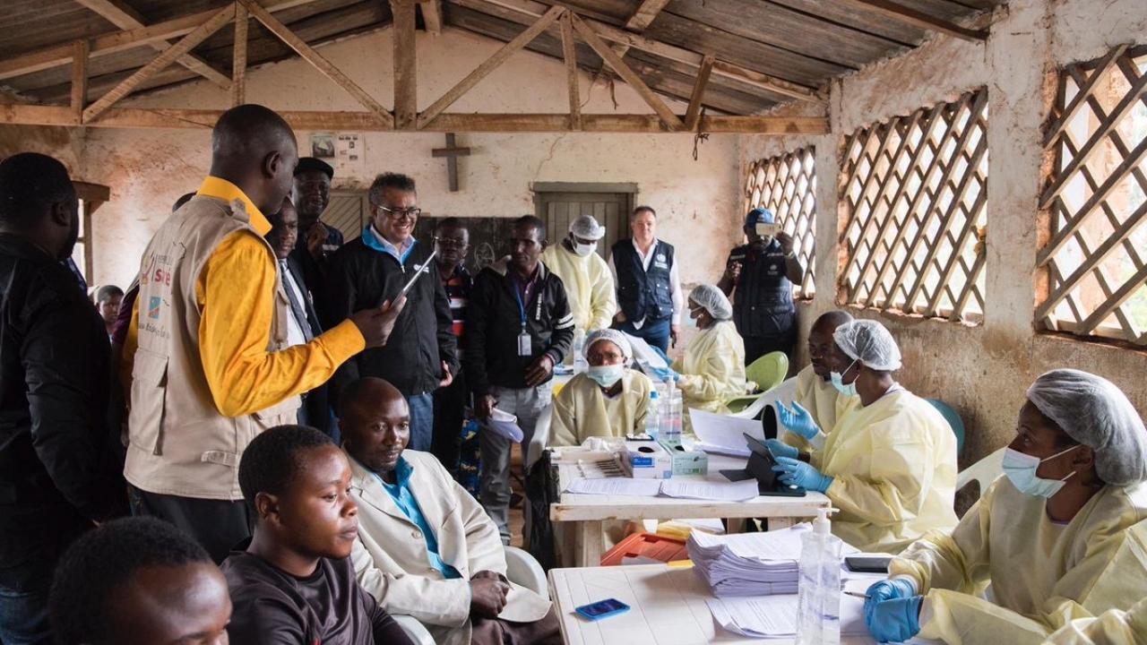 Ebola response team meets in the Democratic Republic of Congo