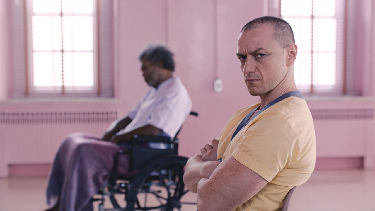 """James McAvoy in """"Glass"""""""