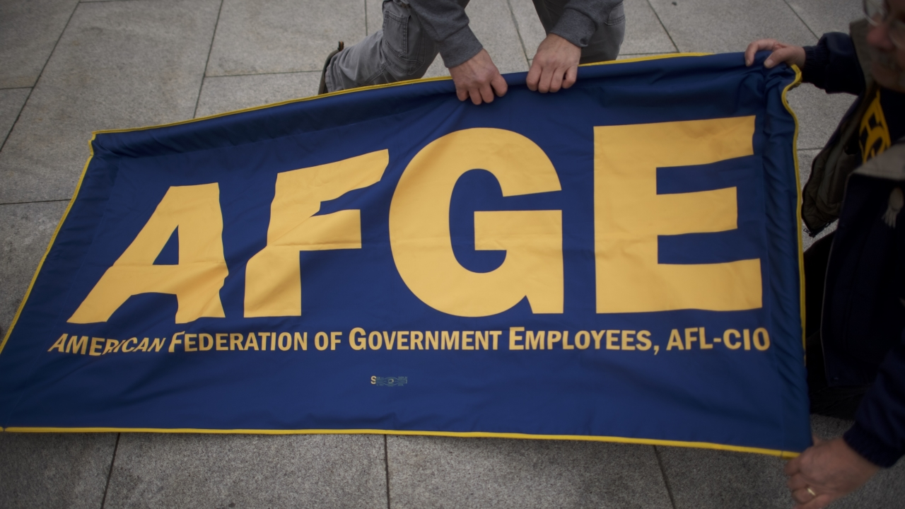 AFGE still moving forward with lawsuit over govt  shutdown