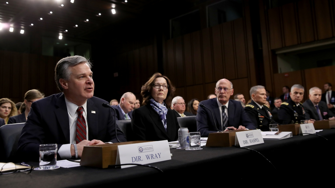US. intelligence officials testify