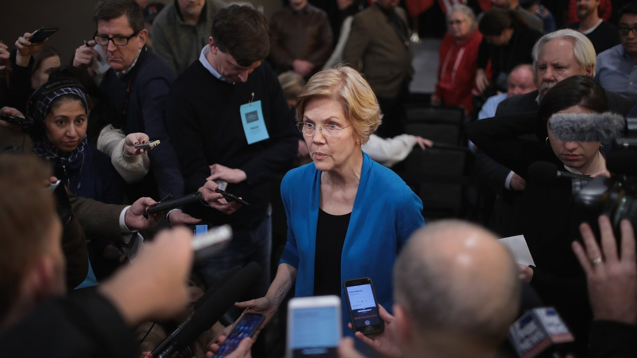 Fact-checking Elizabeth Warren's Claim About Wealth Inequality