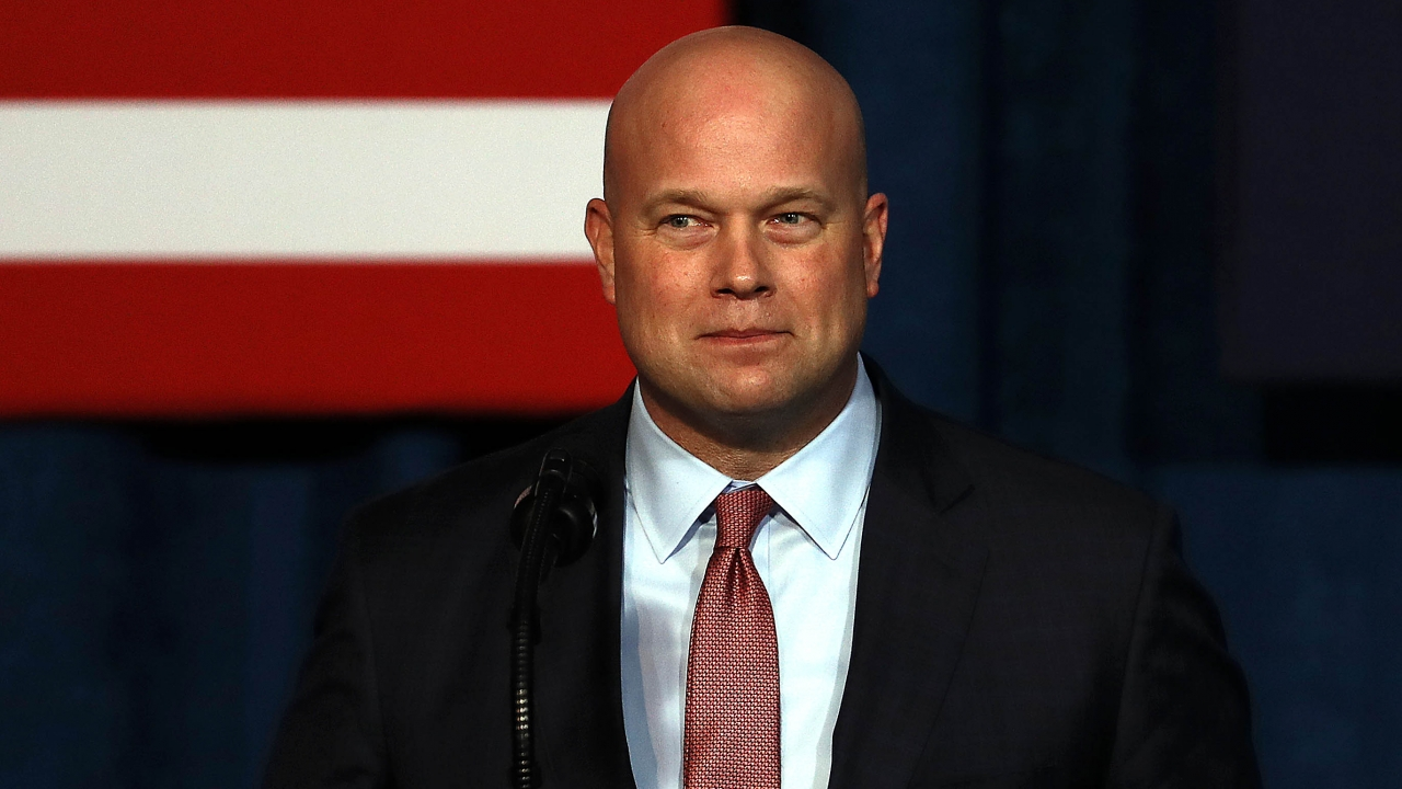 Acting Attorney General Matthew Whitaker.