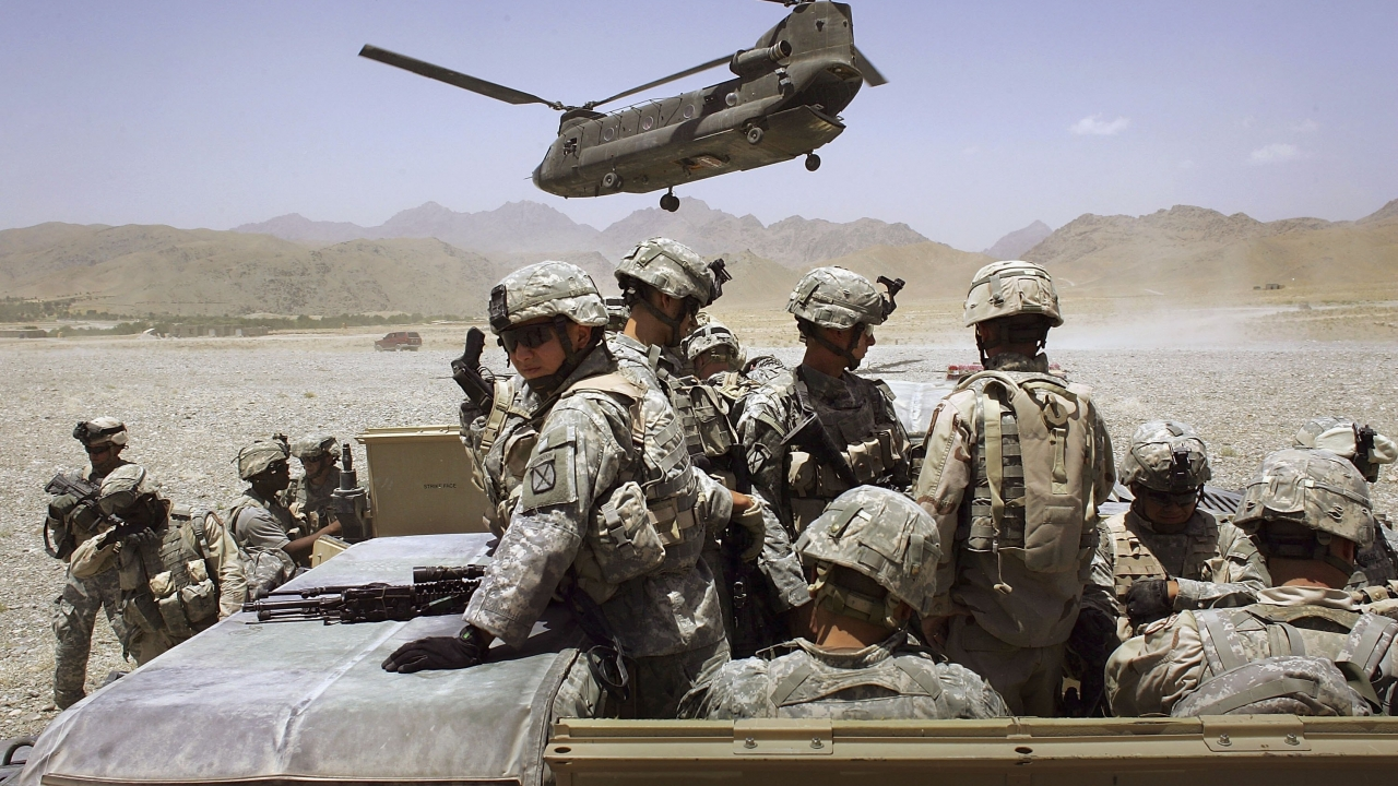 U.S. troops in Afghanistan
