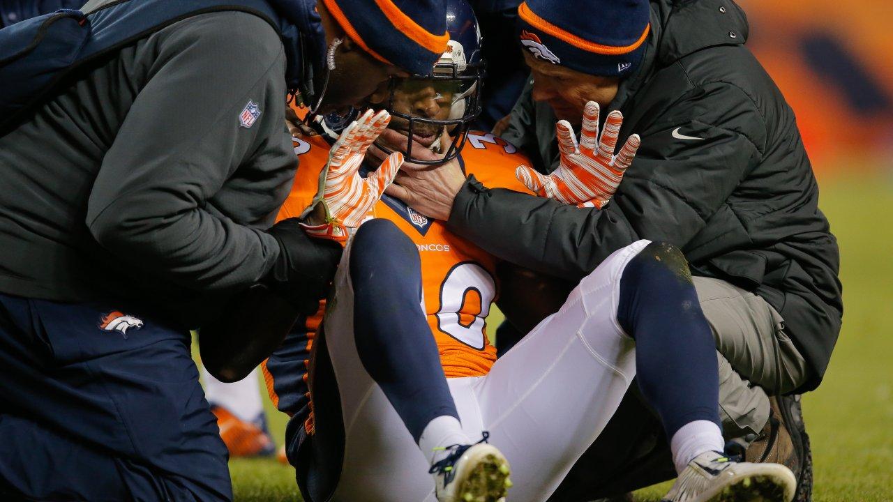 David Bruton of the Denver Broncos