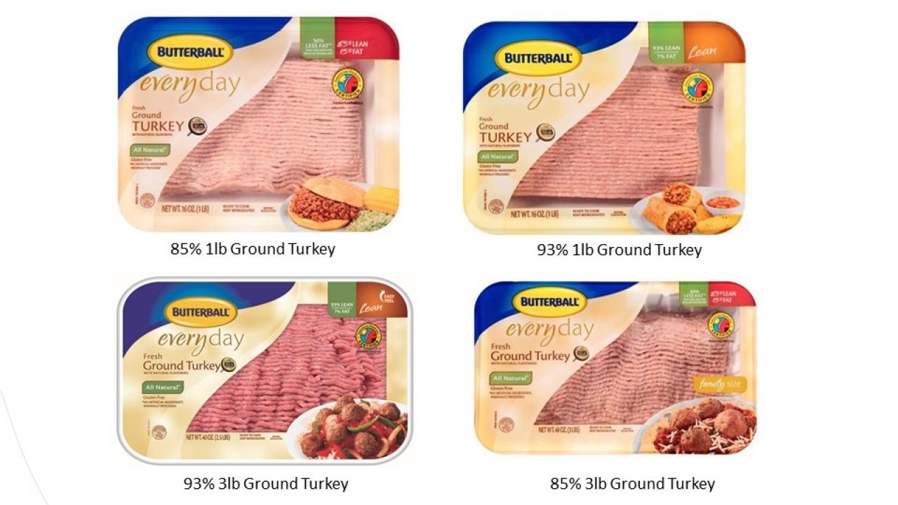 Butterball Ground Turkey Recalled Over Salmonella Fears