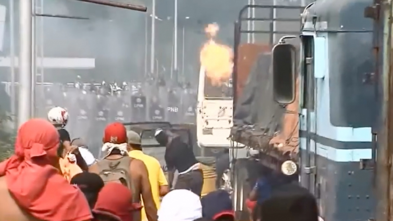 Dozens of video from the day the incident took place on the bridge help verify who started the fire.