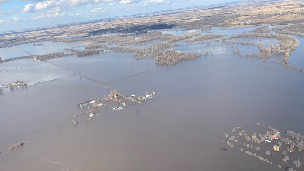 Nebraska Gov. Says Farmers Have Been Hit The Worst By Flooding