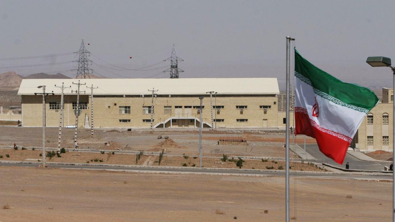An Iranian nuclear power plant