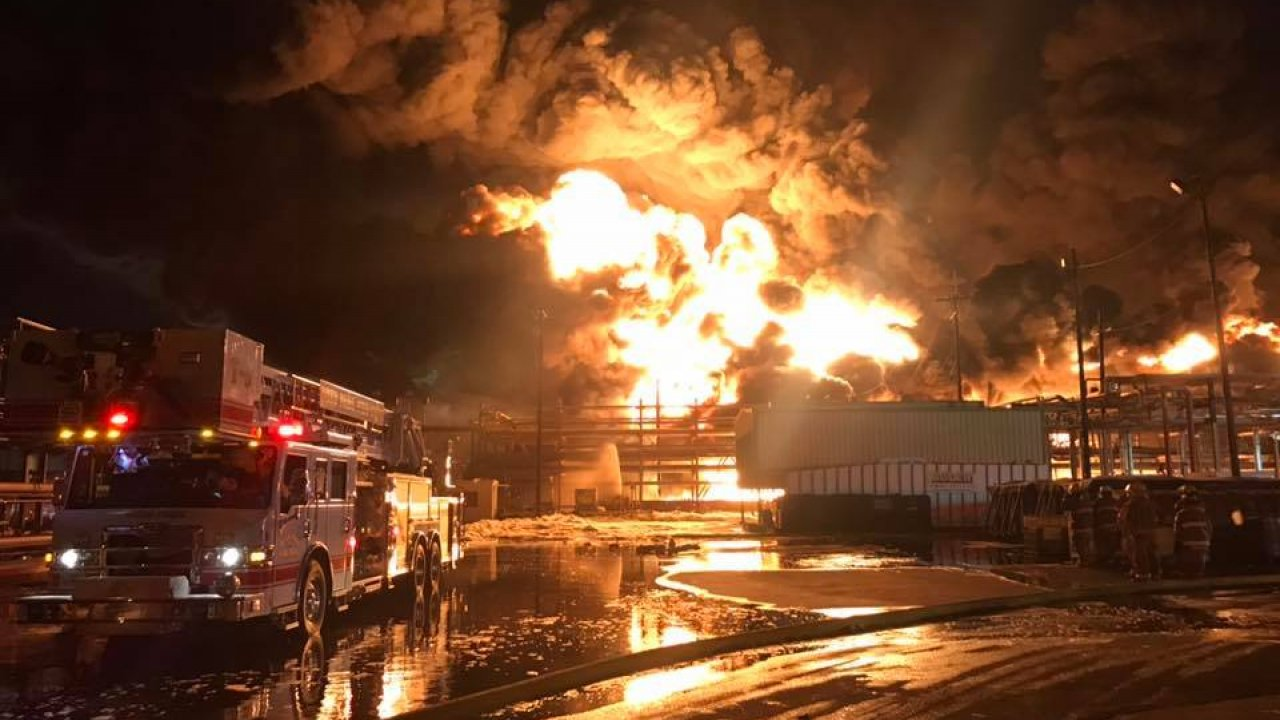 Officials Contain Second Fire At A Texas Chemical Plant