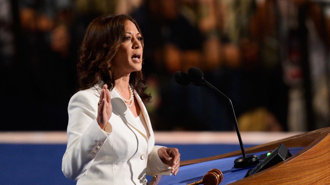 Kamala Harris Pitches Federal Investment To Raise Teachers' Pay