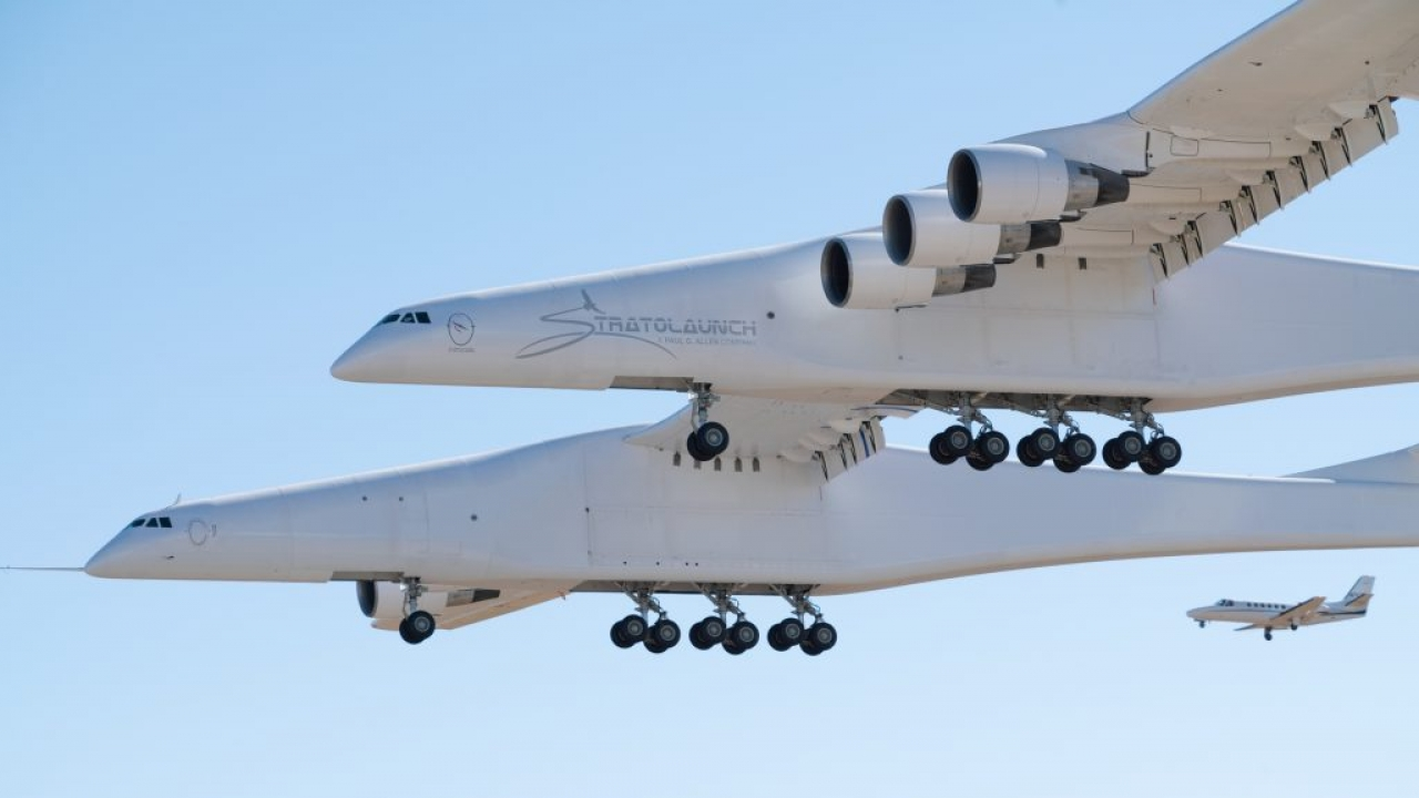 A Plane Larger Than A Football Field Just Flew For The First Time