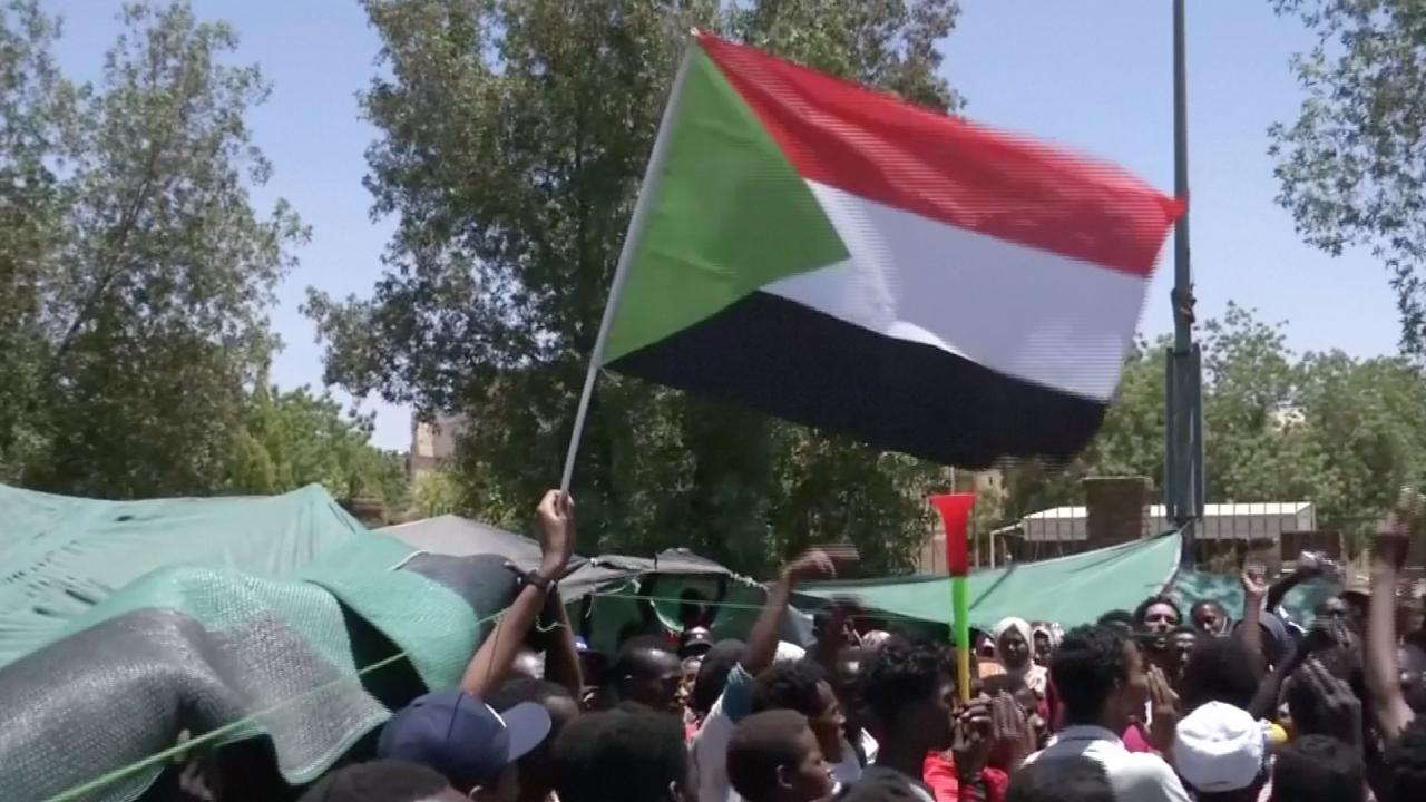 Protesters In Sudan Call For Civilian Transitional Government