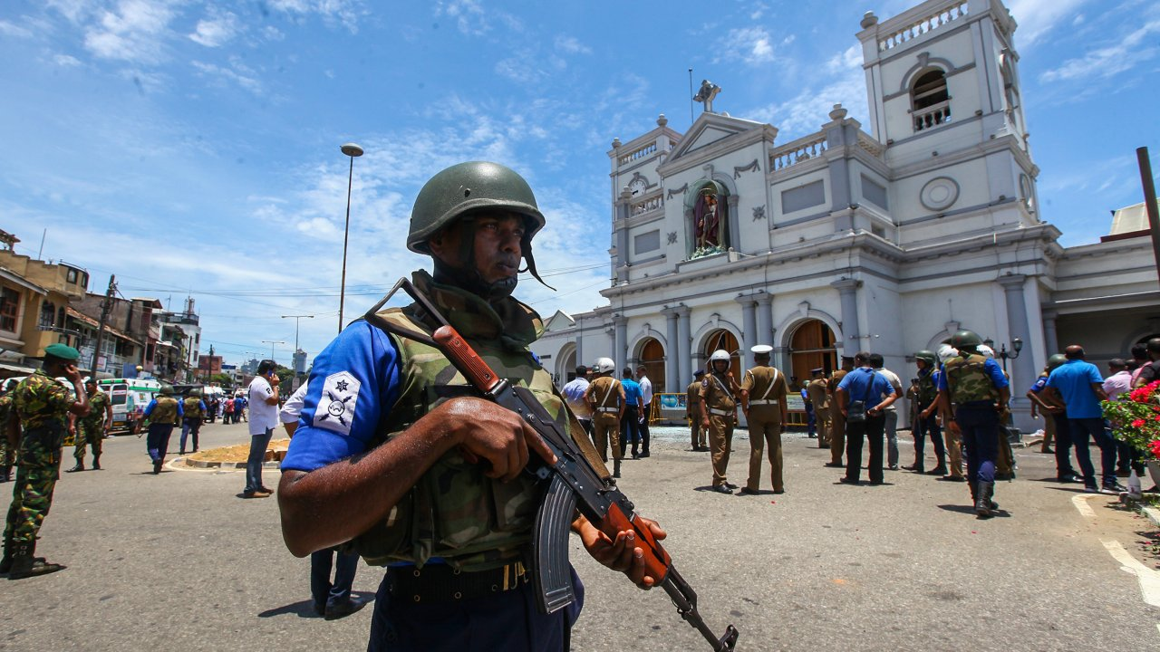 Terror Attacks In Sri Lanka Echo Country's Bloody Civil War