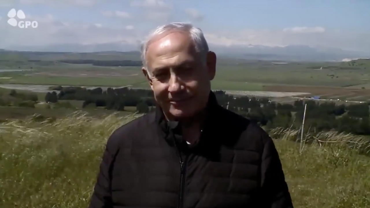 Netanyahu Says He'll Name A Community In Golan Heights After Trump