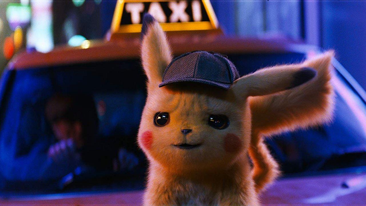 "Ryan Reynolds voices Pikachu in ""Pokemon Detective Pikachu"""