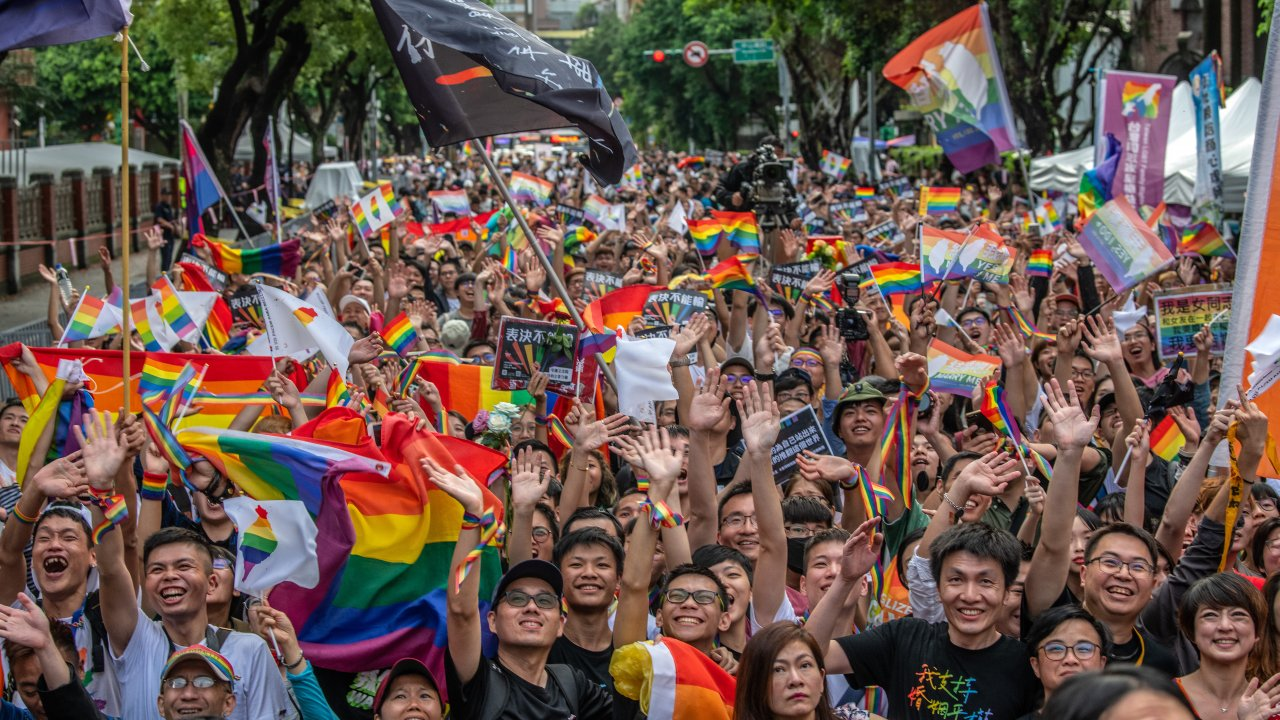 Taiwan Votes To Legalize Same-Sex Marriage