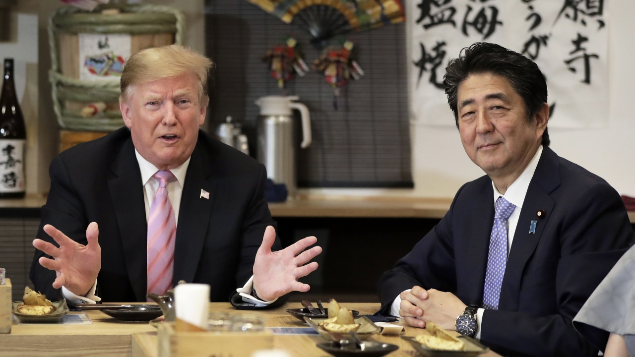 Trump Says Japan And US Are 'Getting Close' To Trade Deal