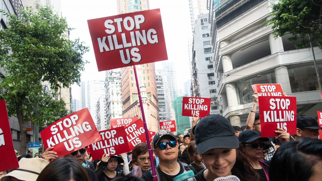 Hong Kong's Protesters Say They Are Losing Trust In Their Government