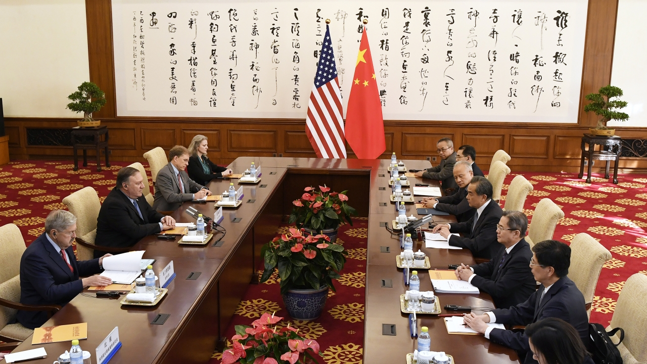 U.S.-China trade talks in Beijing