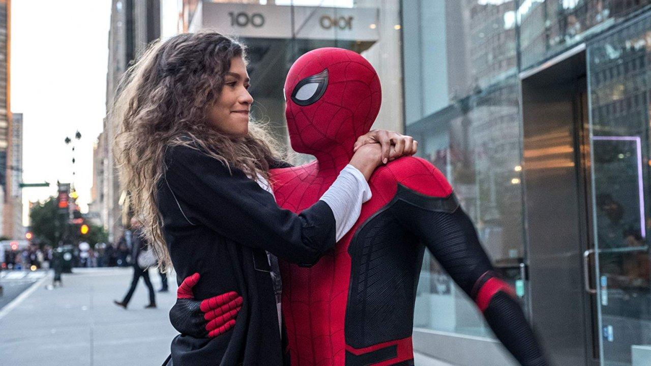 "Tom Holland & Zendaya in ""Spider-Man: Far From Home"""