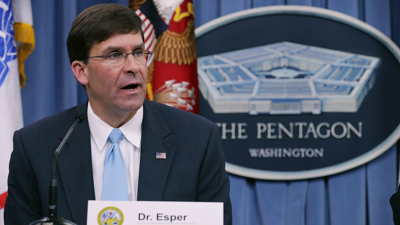 Senate Committee To Hold Hearing On Mark Esper As Defense Secretary