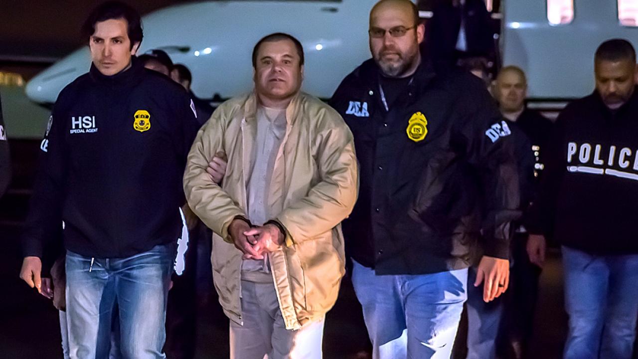 'El Chapo' Sentenced To Life In Prison