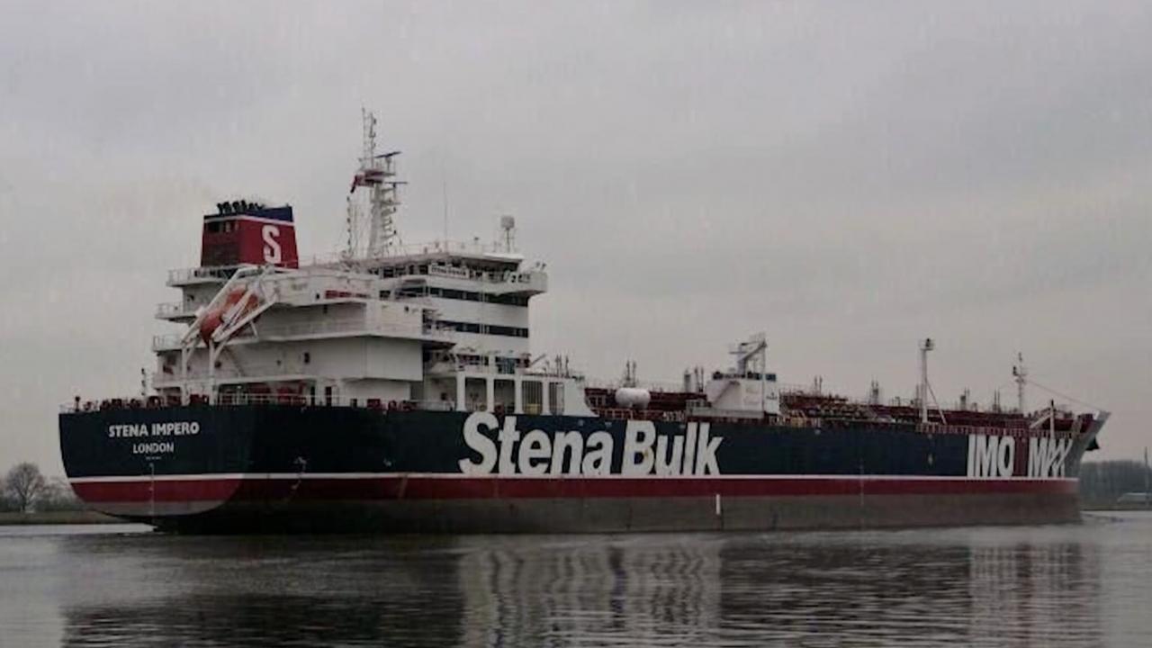 Stena Impero oil tanker