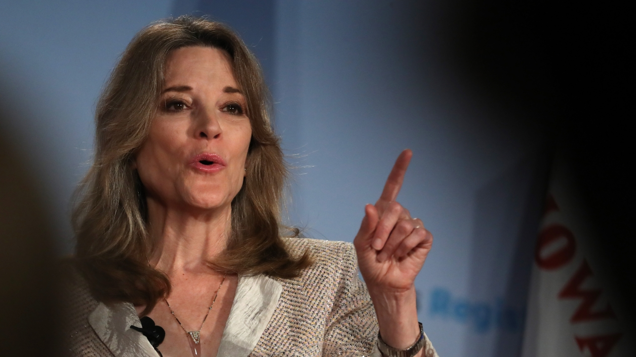 Marianne Williamson Overstates Property Tax's Impact On Education