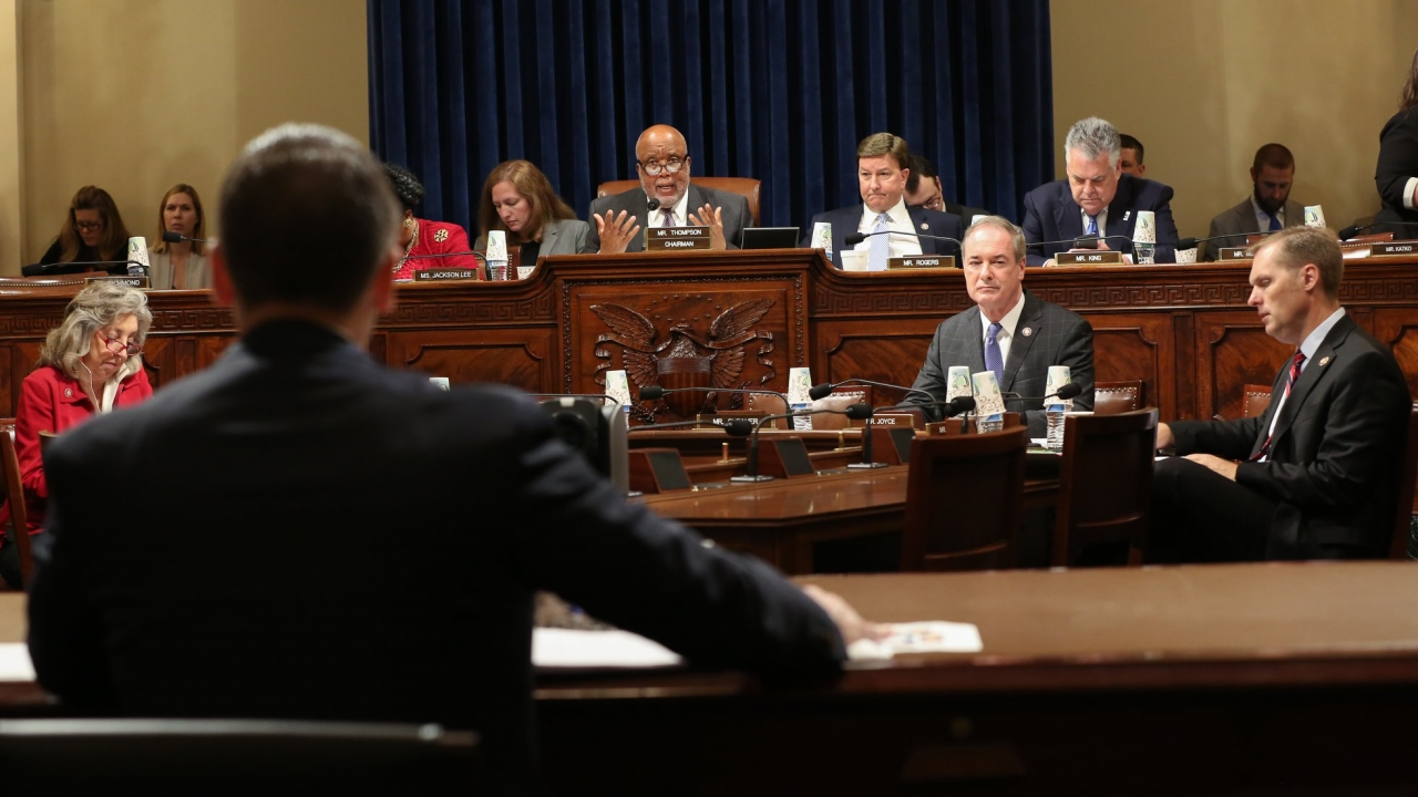 House Committee on Homeland Security meeting