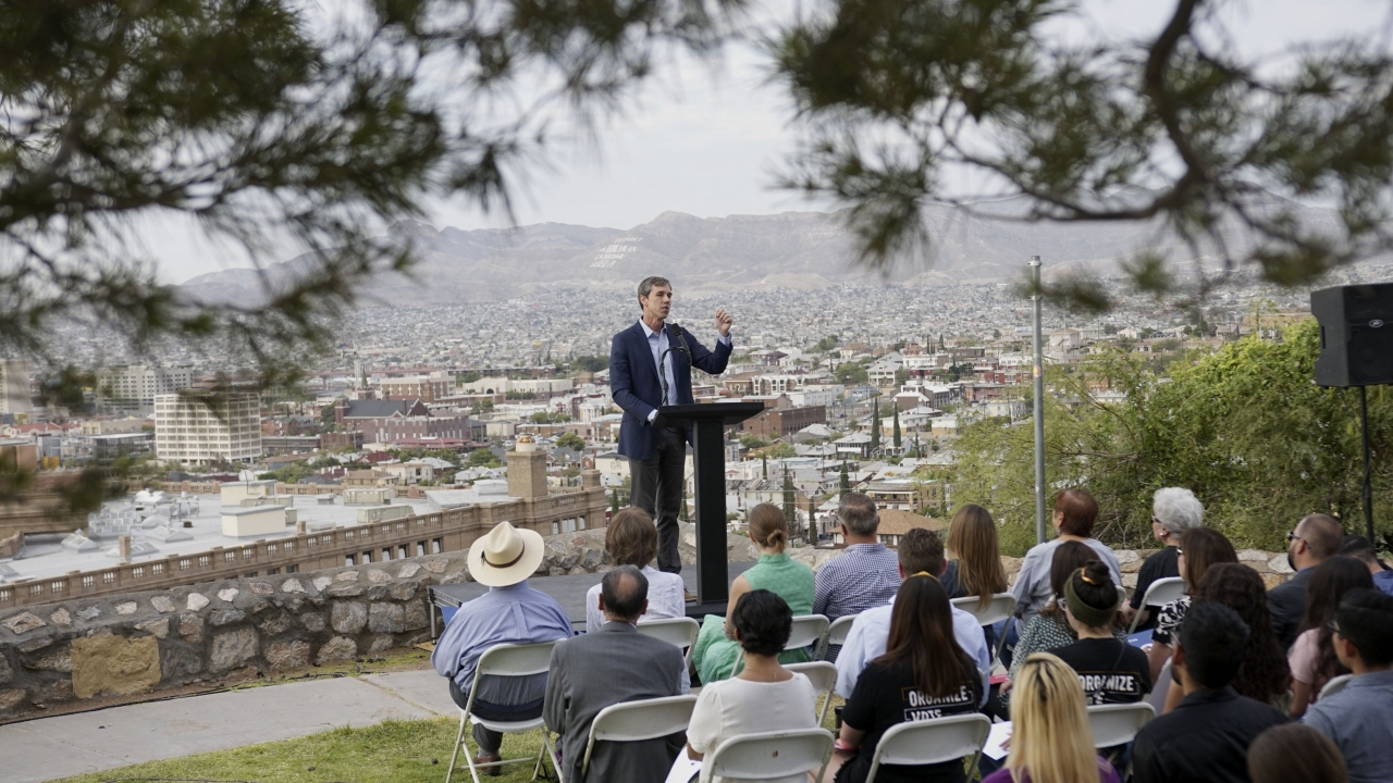 O'Rourke Relaunches Presidential Bid, Championing El Paso Cause