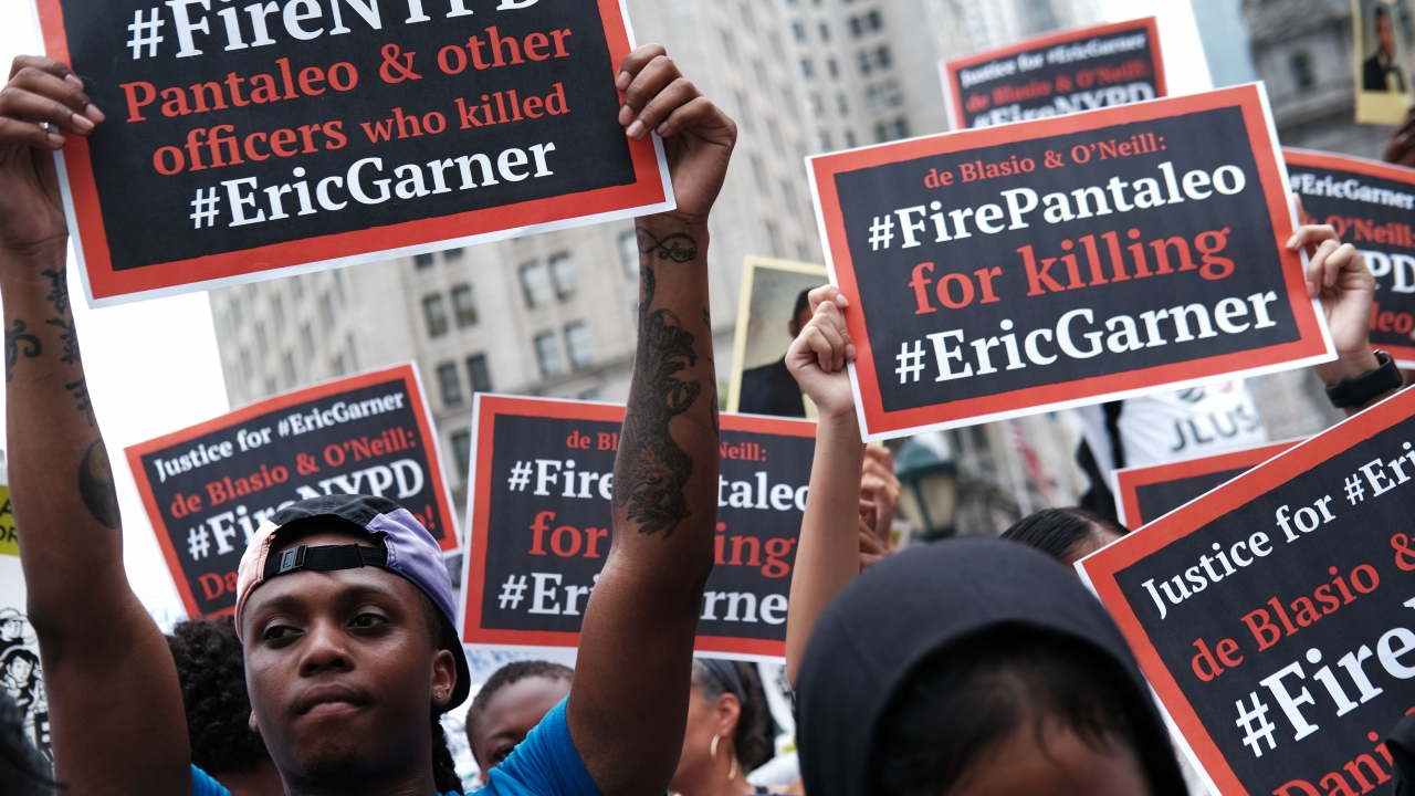 NYPD Commissioner Fires Officer Who Put Eric Garner In A Chokehold