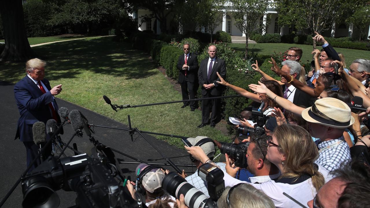 President Trump Calls Democratic Jews 'Disloyal' To Israel
