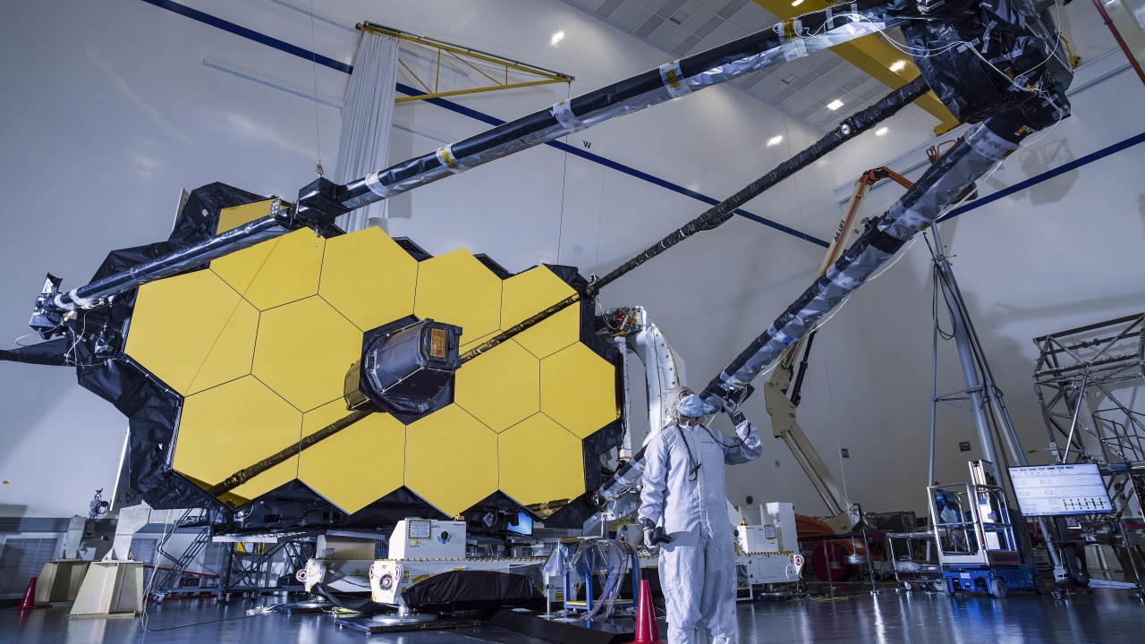 NASA's James Webb Space Telescope Assembled For First Time