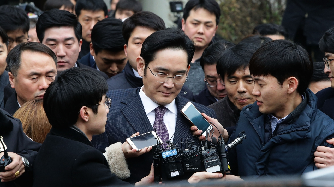 South Korean Court Orders Retrial For Samsung Heir