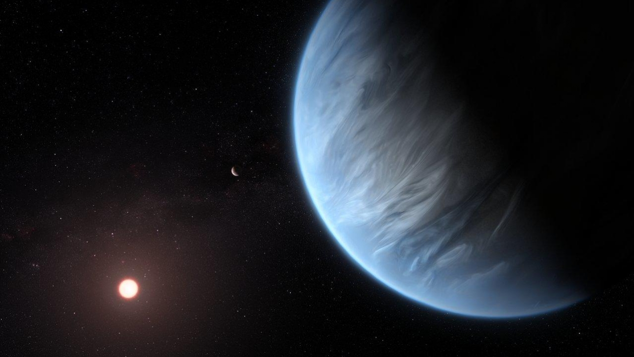 Study Finds Water In Atmosphere Of Potentially Habitable Planet