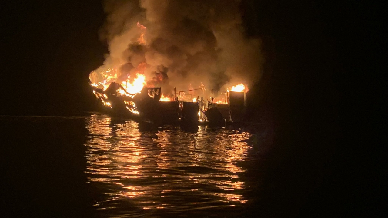 NTSB Report Says Crew Was Asleep When California Boat Fire Occurred