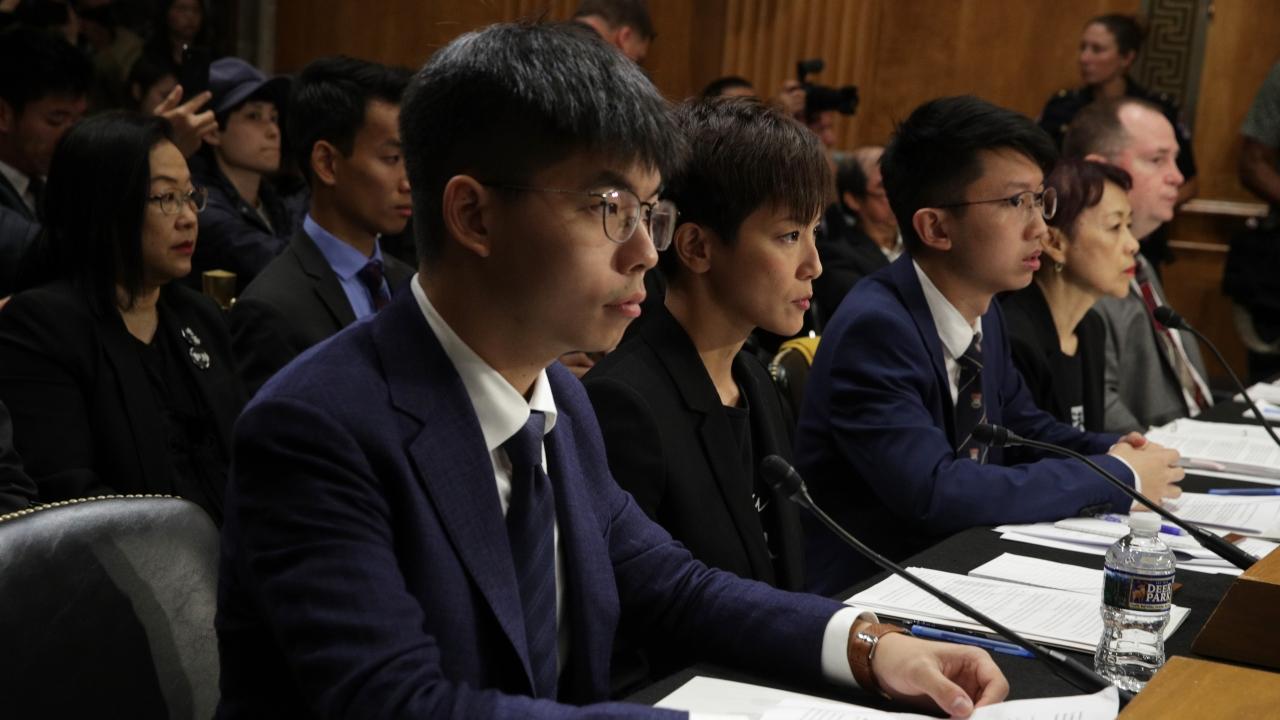 Hong Kong Protest Leaders Urge U.S. To Put Pressure On China