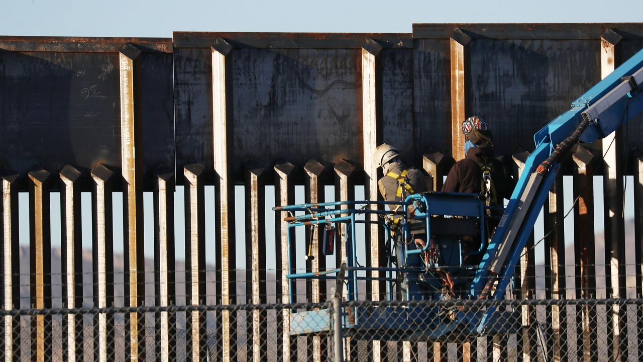 Interior Dept. Transferring Public Land For Border Wall Construction