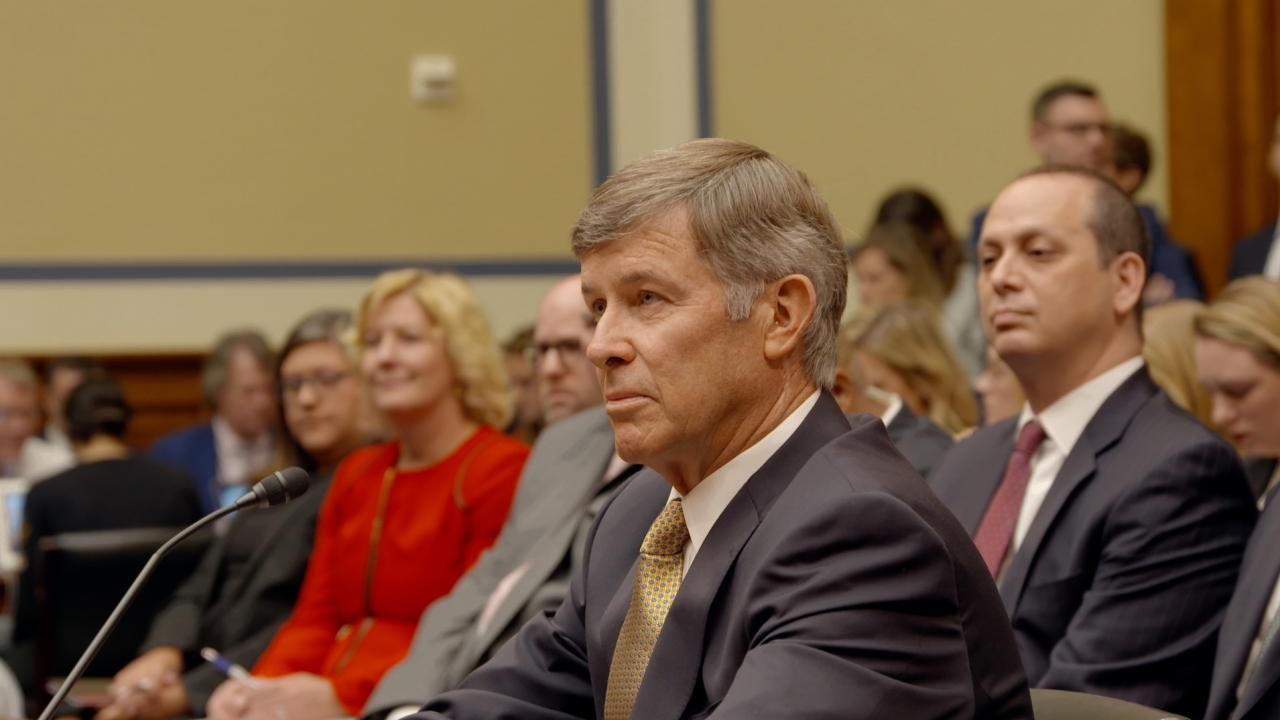 Joseph Maguire testifies before a House committee