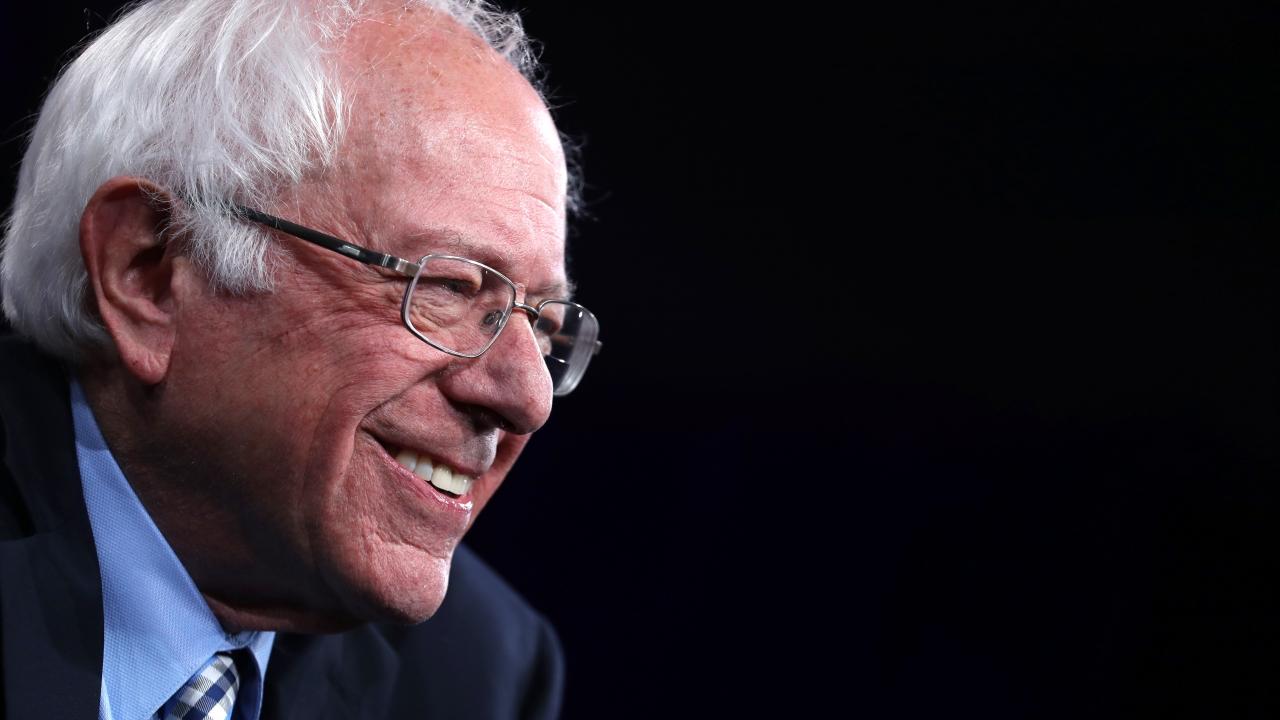 Democratic presidential candidate U.S. Sen. Bernie Sanders