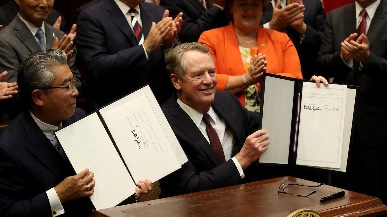 U.S.-Japan Deal Sets New Bilateral Standards For Digital Trade