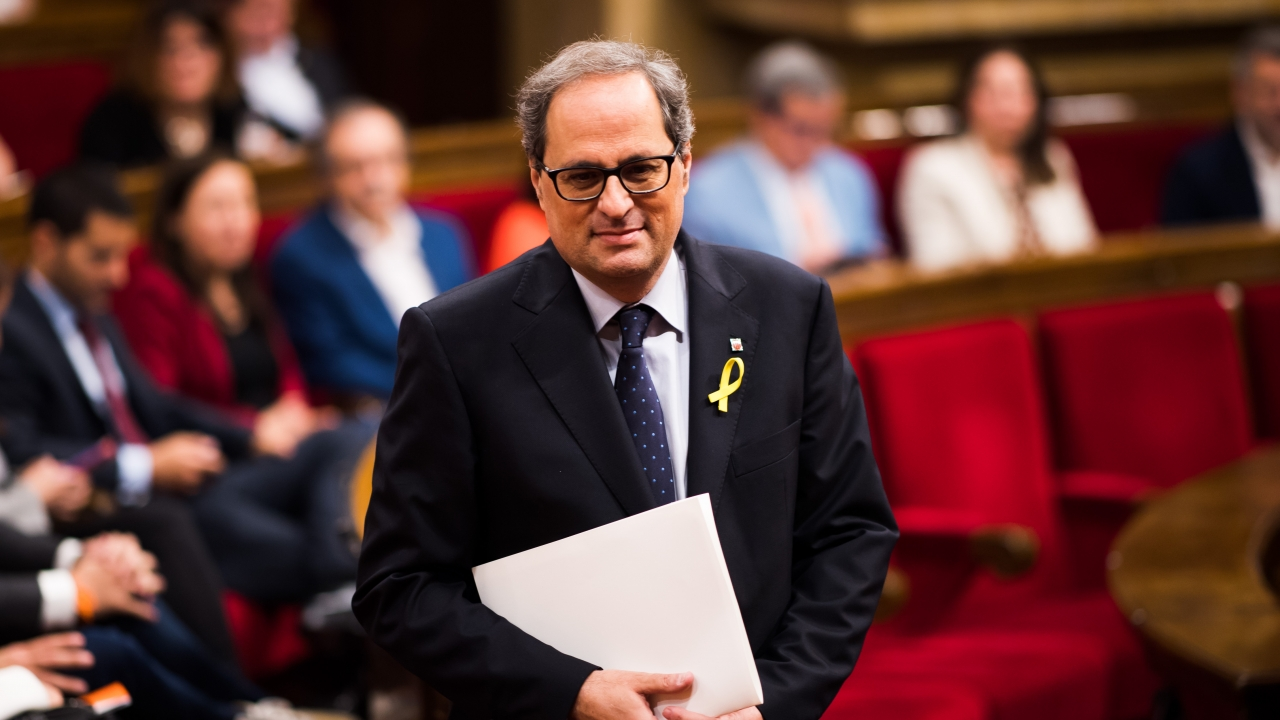 Catalan Leader Calls For Region's Independence As Protests Continue